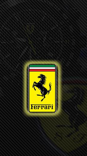 Ferrari Logo WP05 Color