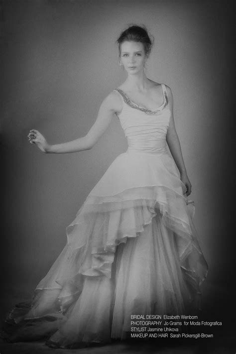 wedding dress, Elizabeth Wenborn, Bridal Designer