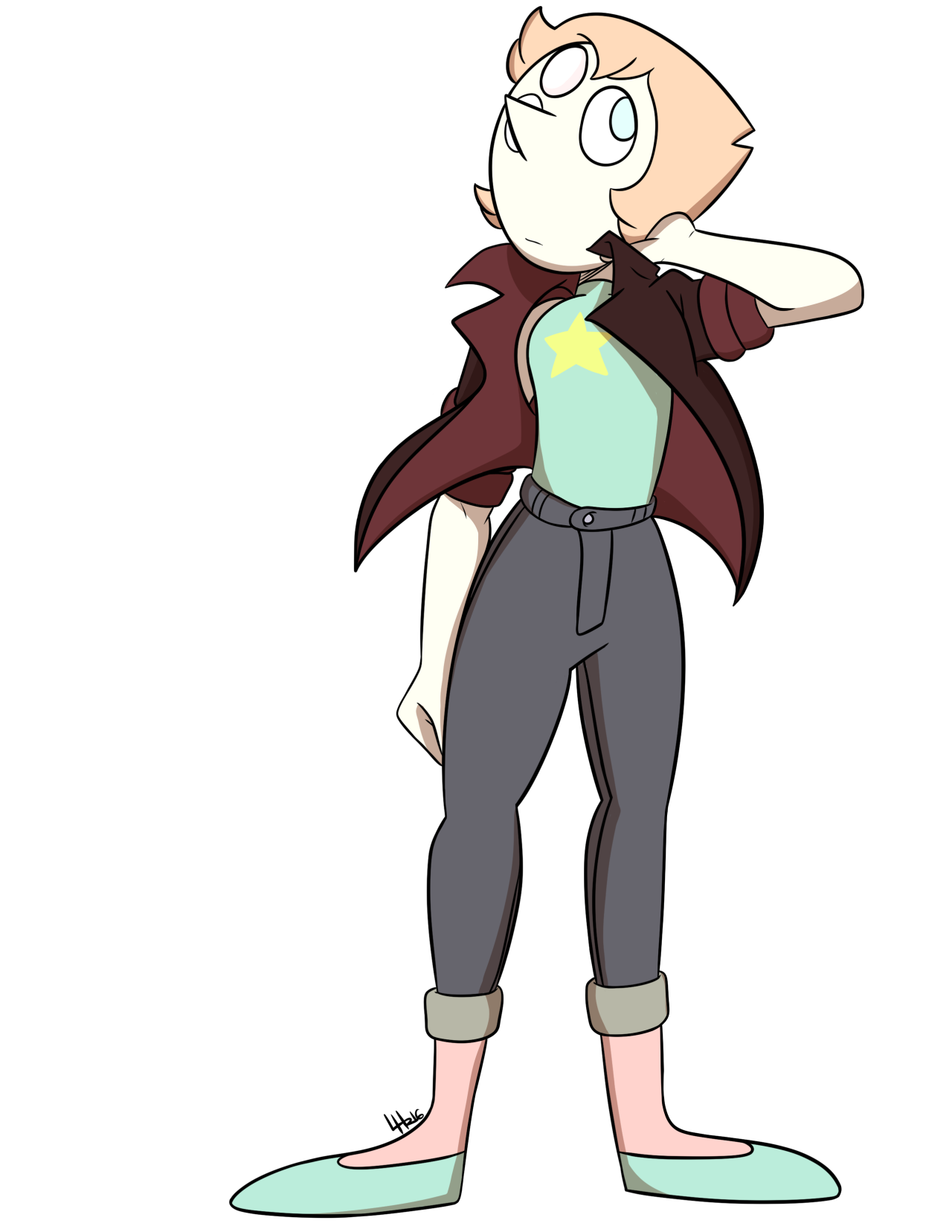How to keep me interested in SU, keep putting Pearl in different outfits because she looks good in anything.