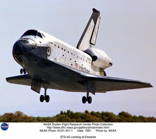 Jun14-1991-STS40landing