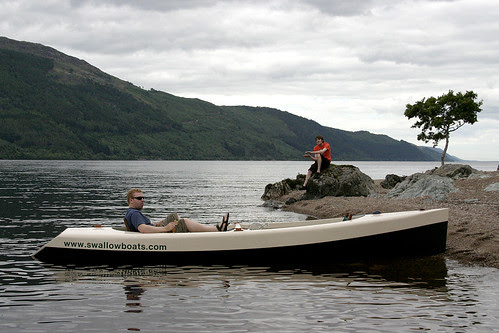 Evening on Loch Ness