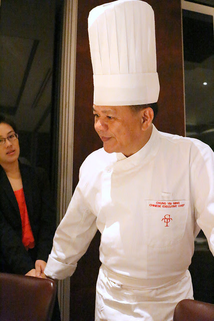 Chinese Executive Chef Chung Yiu Ming has been with Li Bai for a long time