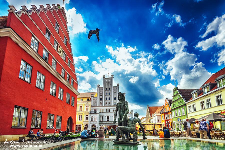 Wycieczka po Greifswald - reportaż foto