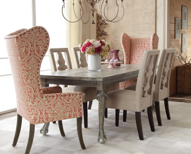 coral and gray decoration ideas