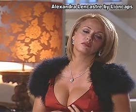 Alexandra Lencastre super sensual na novela Meu Amor
