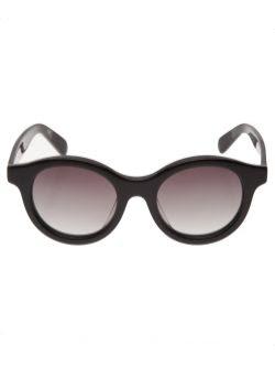 Stefania Pia Round Sunglasses