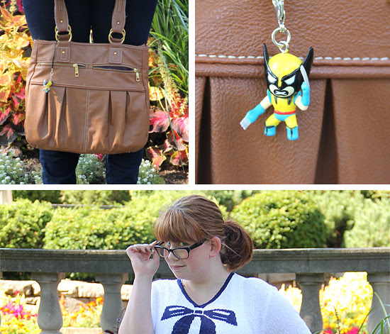 blog lovelymissmegs megan wardrobe project outfit ootd thrift glee nerd