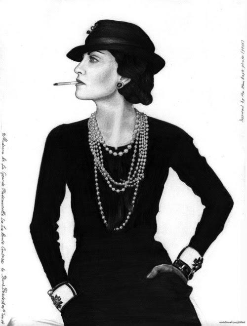 ruecambon: elvisdepressley: Madonna as Coco (This makes me think of molokovellocet)