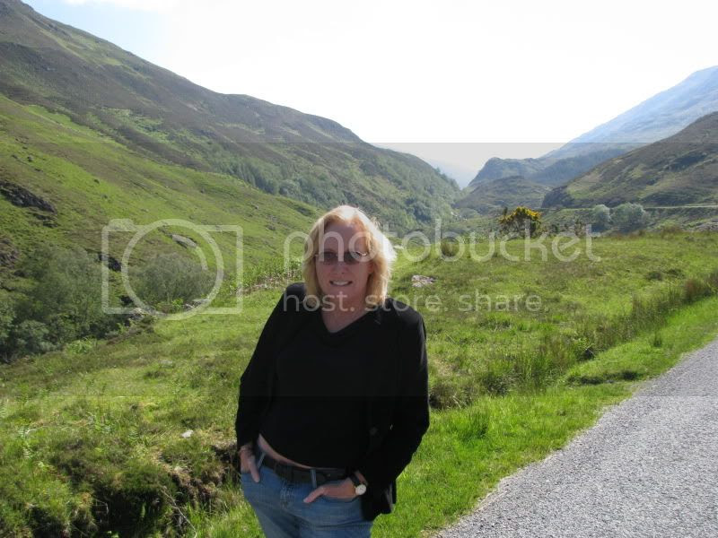 Christine in the highlands