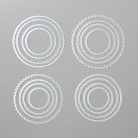 Poinçons Framelits Pyramide de cercles