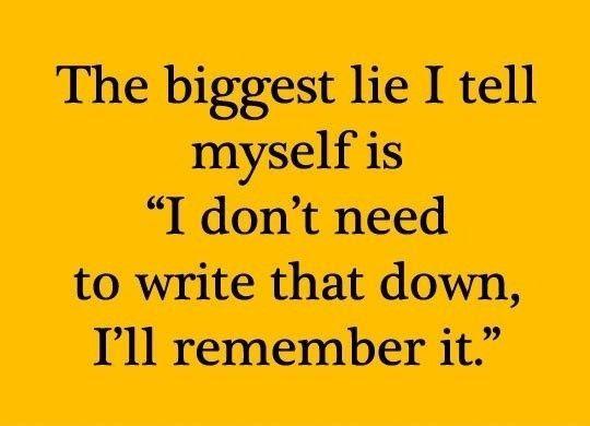 I'll remember that.....
