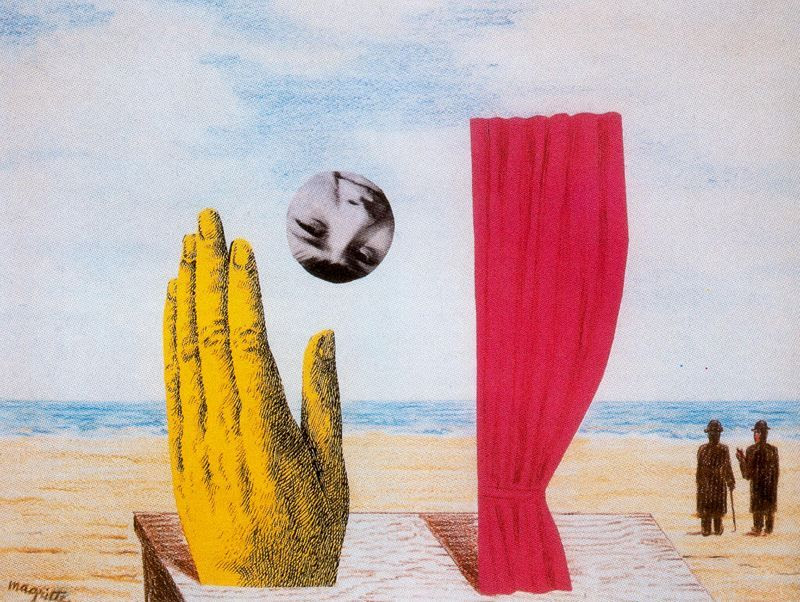 Collage Rene Magritte