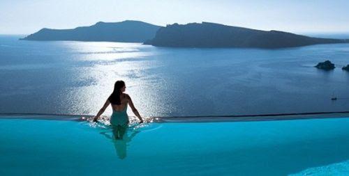 Pool at Hotel Caruso Ravello in Ravello, Italy...