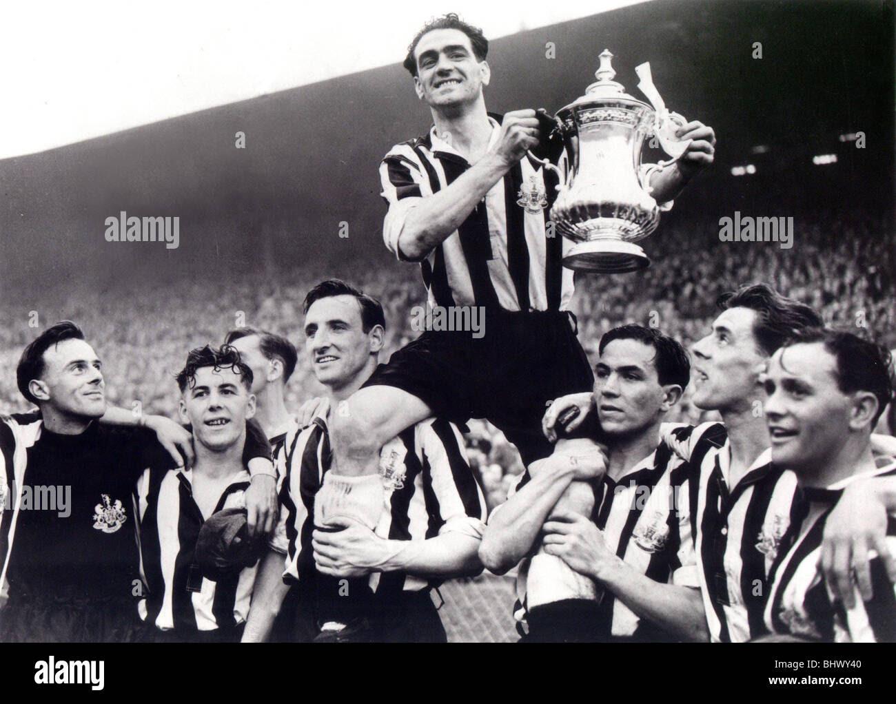 FA Cup Final 1952. Newcastle United vs Arsenal. 03/05/1952 ...