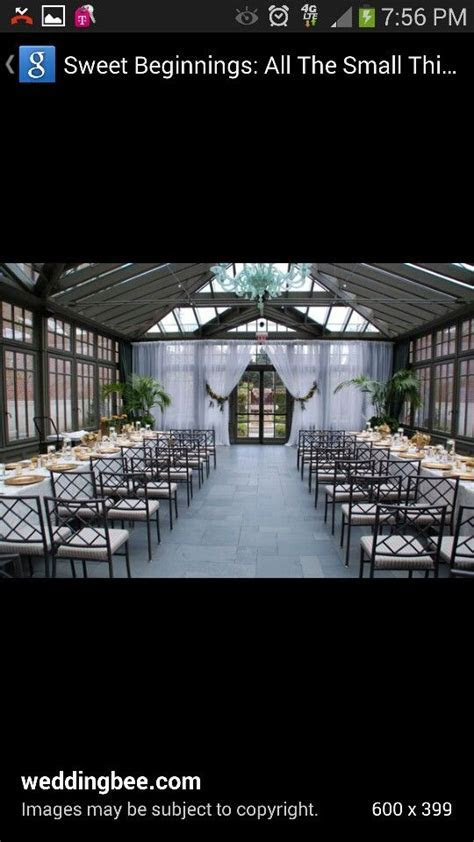 Yes to wedding reception and ceremony same place! More