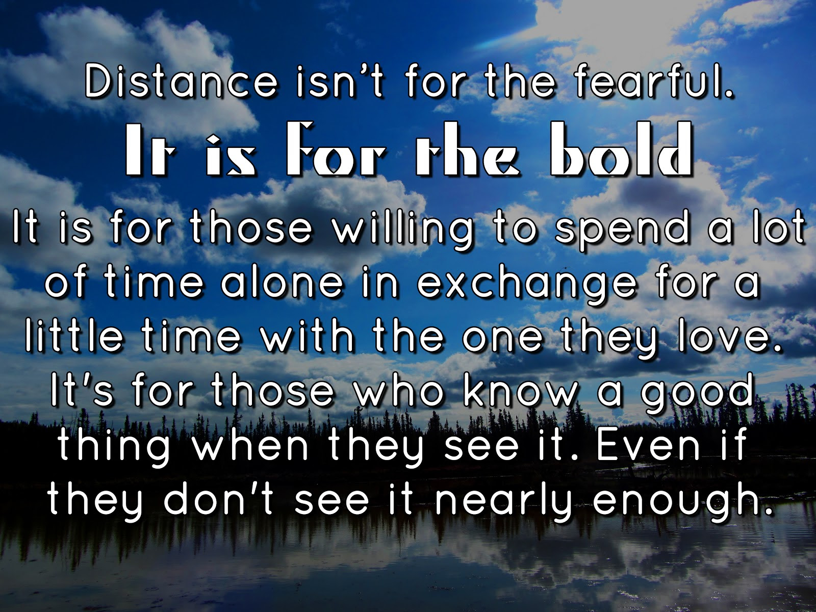Quotes About Long Distance Relationship 64 Quotes