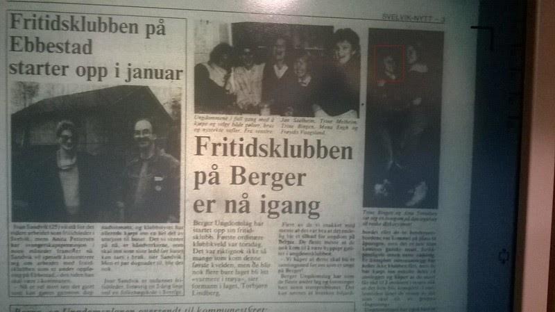 d52f97cc johncons: Aina Svendsen, ble lavere og lavere, utover 80-tallet, virka det  som. (Eller var det de andre, som ble høyere og høyere). Hm