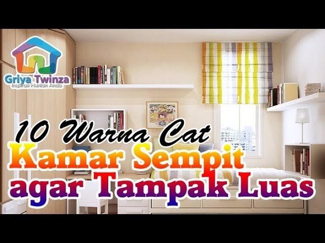 Rekomendasi Cat Kamar Sempit - Ide Warna Rumah