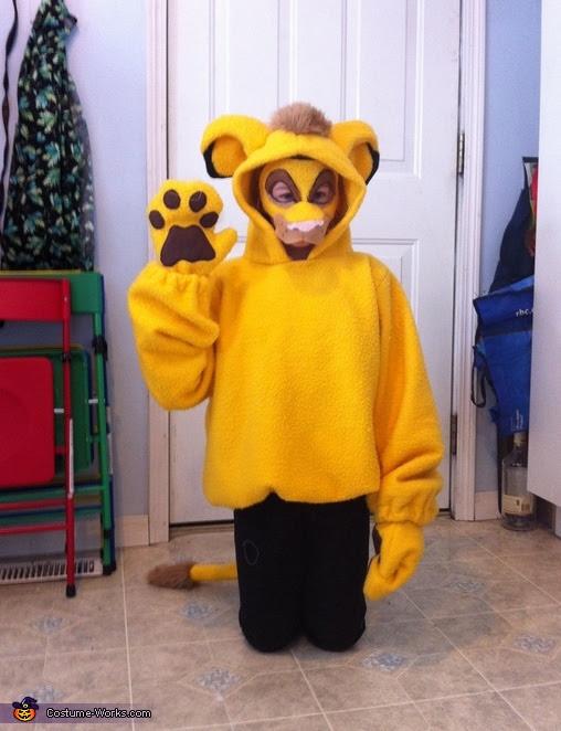 Easy Lion King Costume Ideas