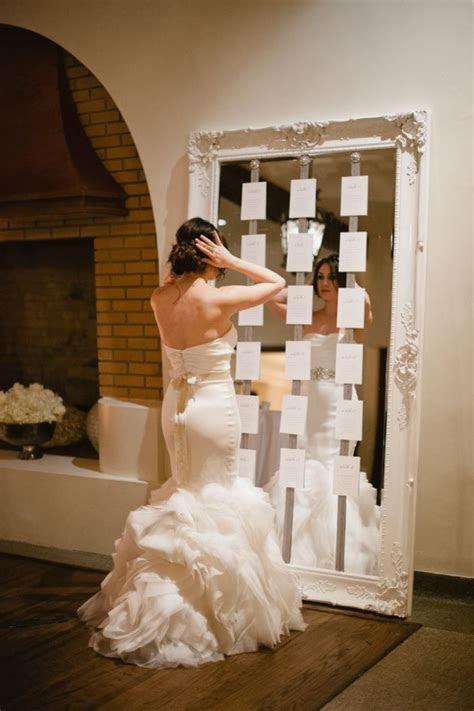 Mirror seating chart   Wedding   Pinterest   Wedding