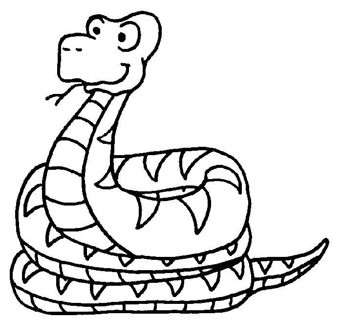 Serpenti Disegni Per Bambini Da Colorare