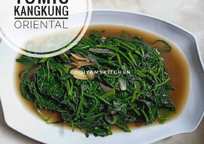 Resep Mudah Tumis Kangkung Oriental Hitungan Menit