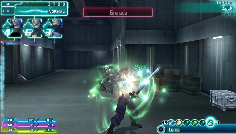 Final Fantasy Crisis Core Psp Espanol - Indophoneboy