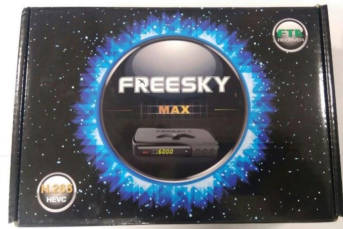 FREESKY MAX STAR NOVA ATUALIZAÇÃO V1.22 - 29/05/2018