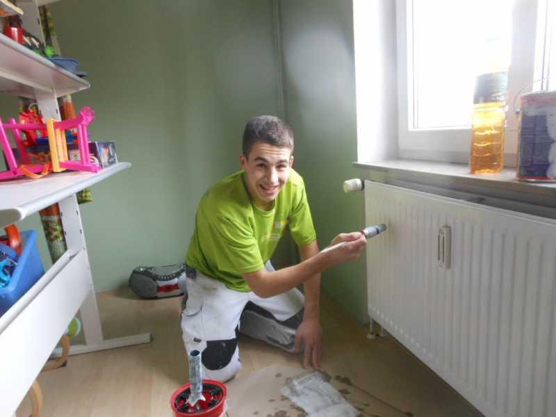 Haben Sie Spa\u00df an Malerarbeiten? Malermeister Andree Antosch