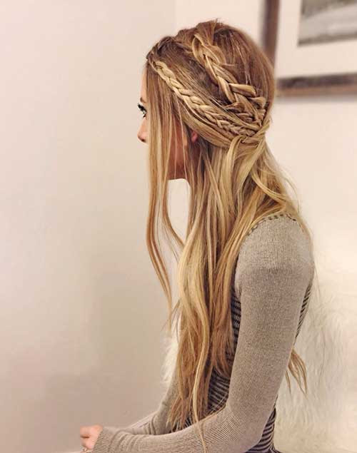 15+ Party Hairstyles for Straight Hair | Hairstyles ...