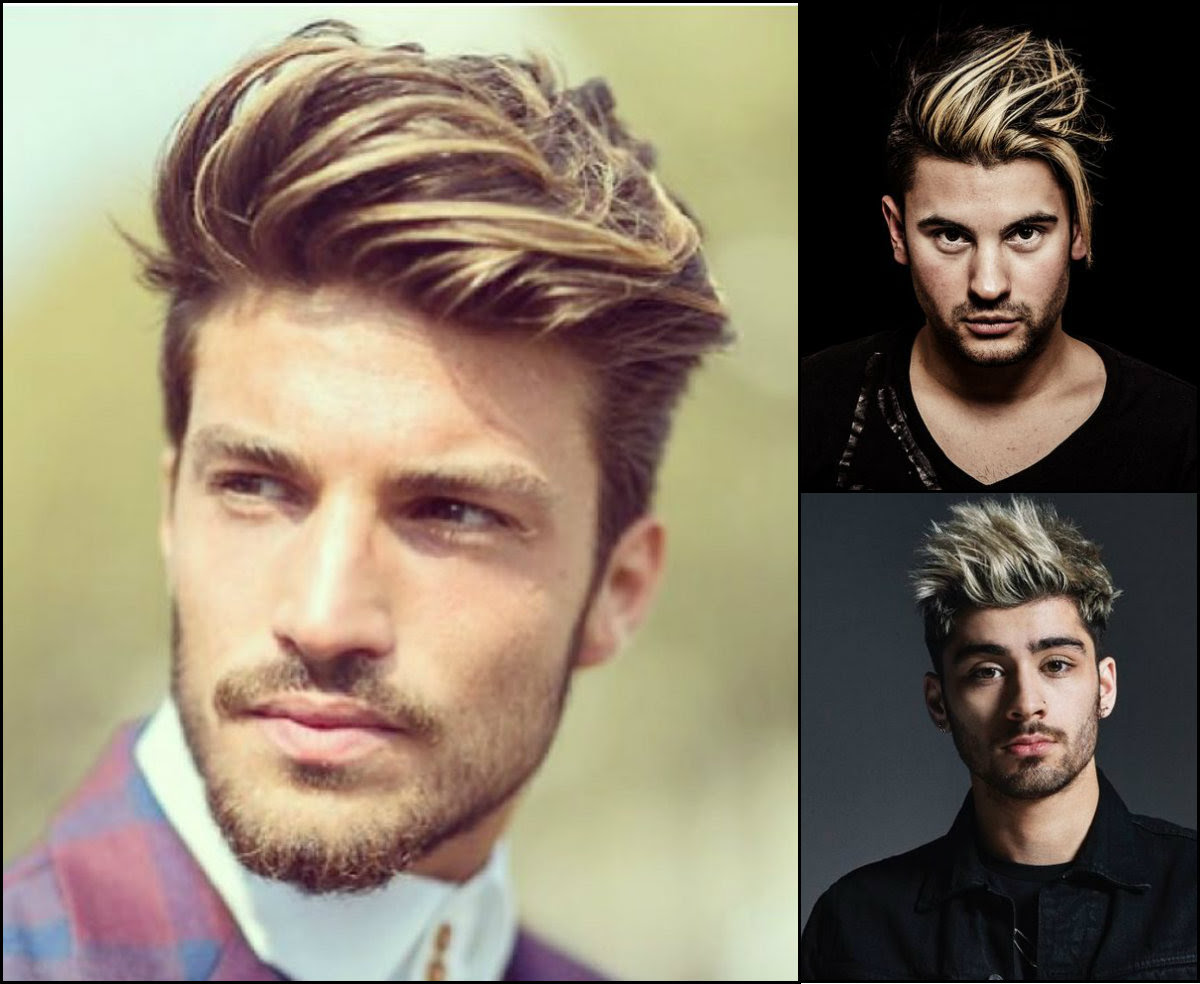 Expressive Mens Hairstyles With Highlights Hairstyle 2017