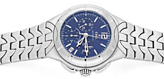 Foto 1, Ebel E-Type Chronograph Chronometer Automatik ST Topuhr, U1427