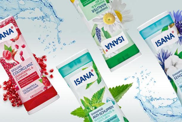 ISANA Shampoos + Spülungen