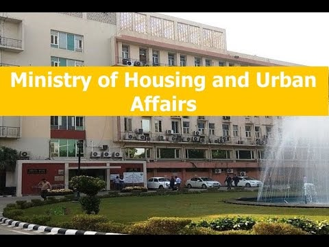 What is Role of Ministry of Housing and Urban Affairs