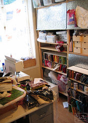 studio reorganized :: rydding pågår