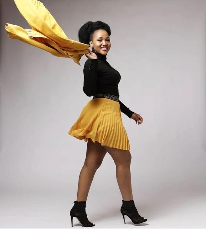 "Liteboho Molise says, ""It was hard to leave"" when she said goodbye to #Muvhango"