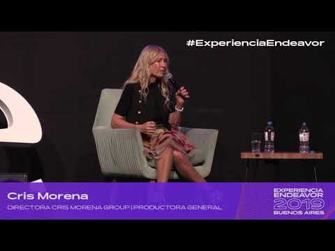 Entrevista Cris Morena con Santiago del Moron - Experiencia Endeavor