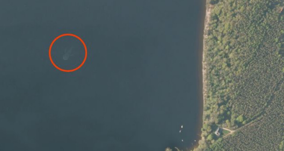 Loch Ness Monster Spotted On Apple Maps It Actually Is A