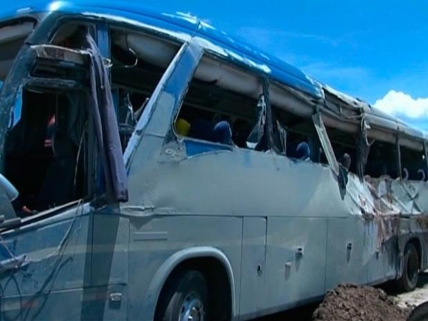 ônibus (Foto: Reprodução / TV Oeste)
