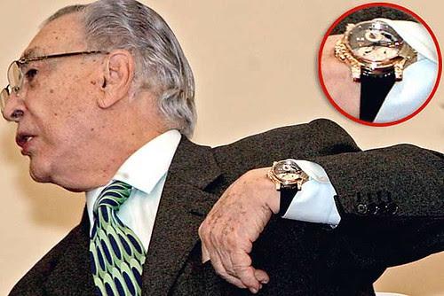 reloj de 70000 dolares de gamboa pascoe
