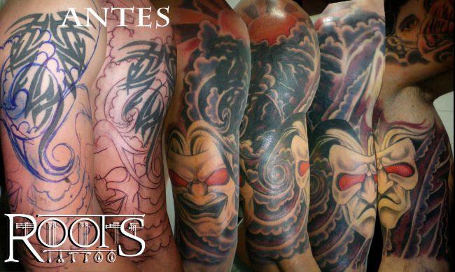 413 El Tatuaje Japonés Csec Por Serafín Rabé Roots Tattoo