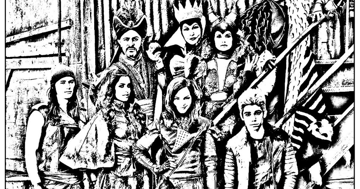 descendants ausmalbilder evie  descendants coloring pages