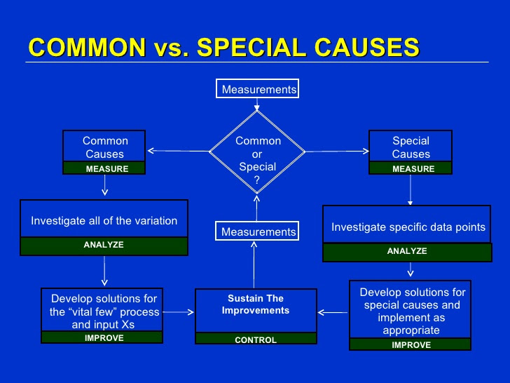 common special cause variation