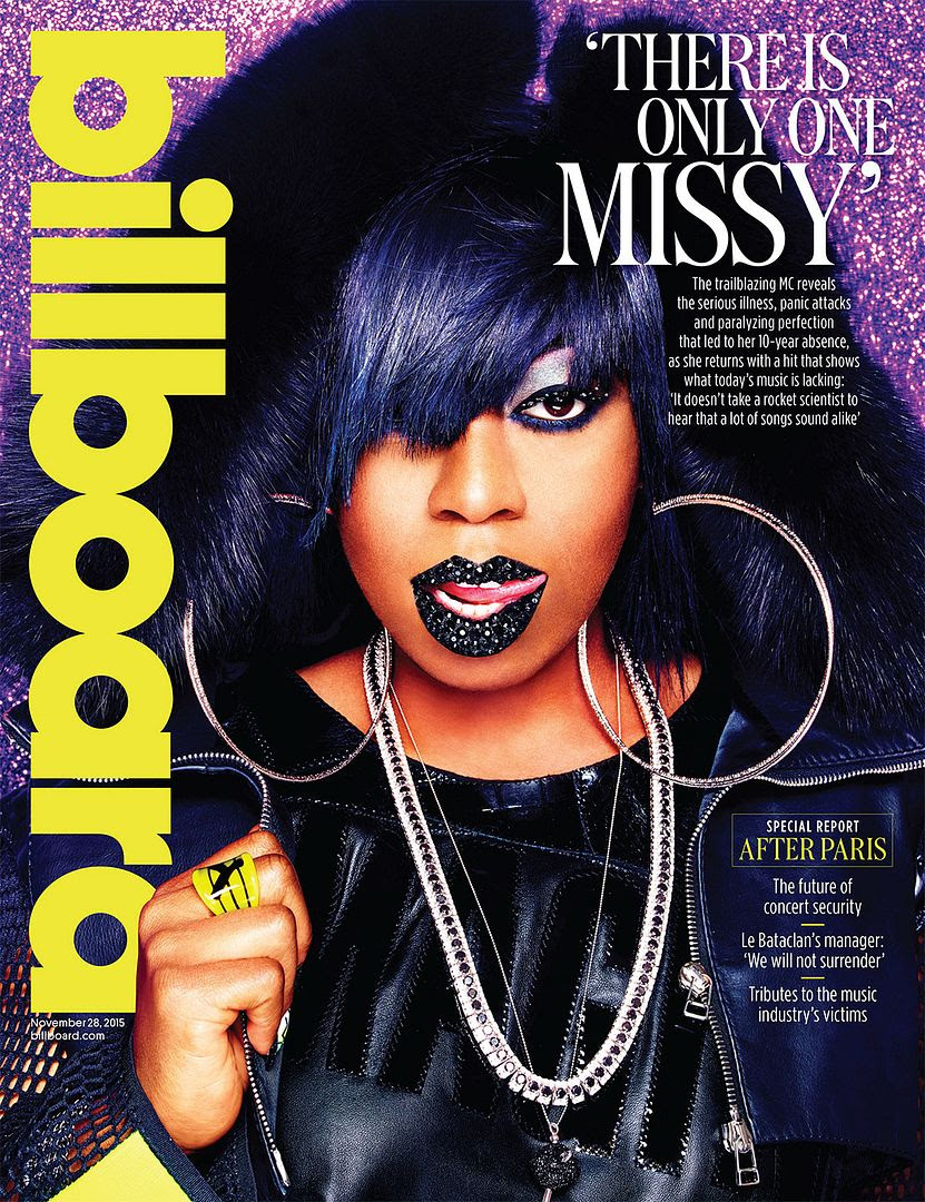 Missy Elliott : Billboard (November 28, 2015) photo tumblr_ny2fvmw31K1r4poono1_1280.jpg