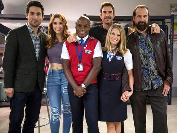 The cast of FOX TV's LA TO VEGAS.