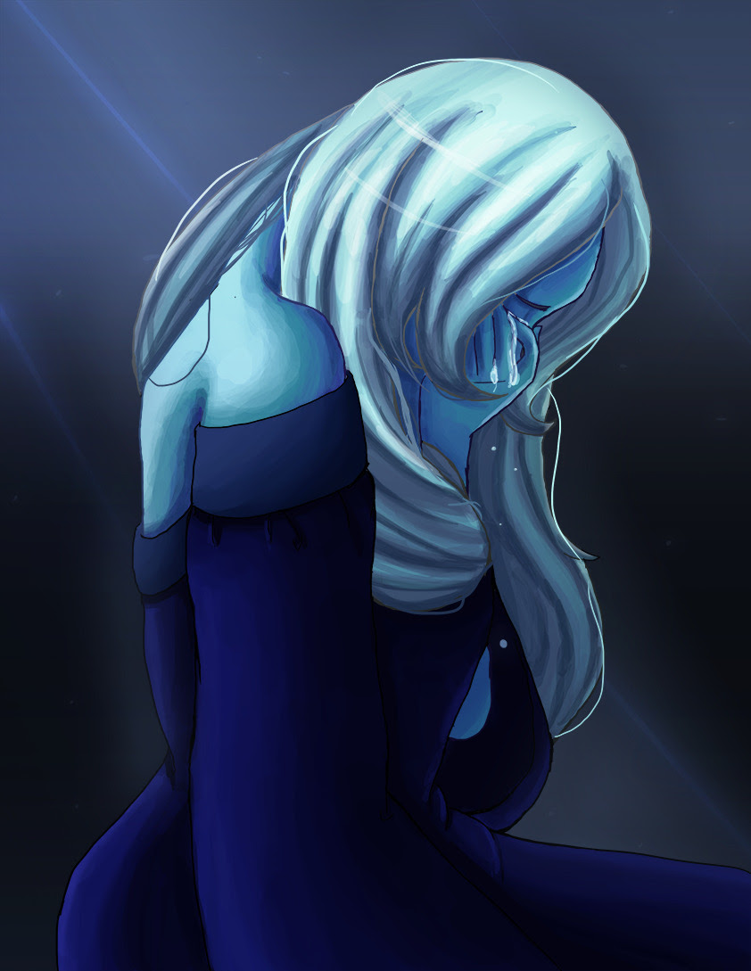 After Lapis Lazuli Blue Diamond is definitely my favorite character. I think I just like the blue gems :p