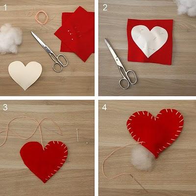 Titulo - Como hacer adornos de san valentin ...