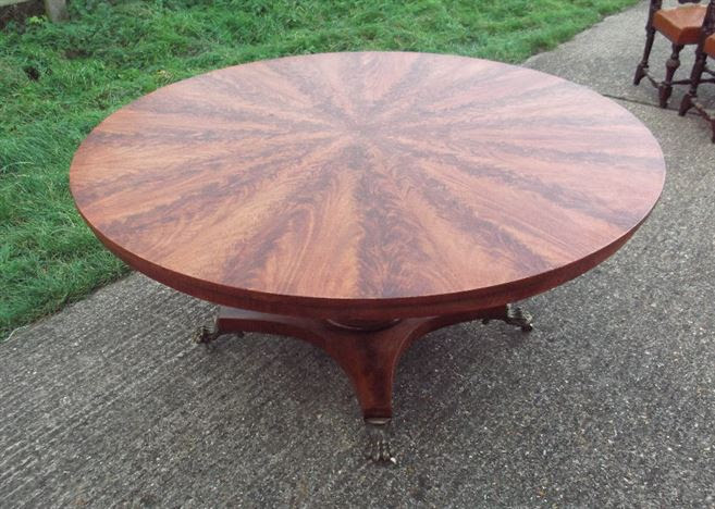 ANTIQUE ROUND DINING TABLES UK - Round Antique Dining Tables
