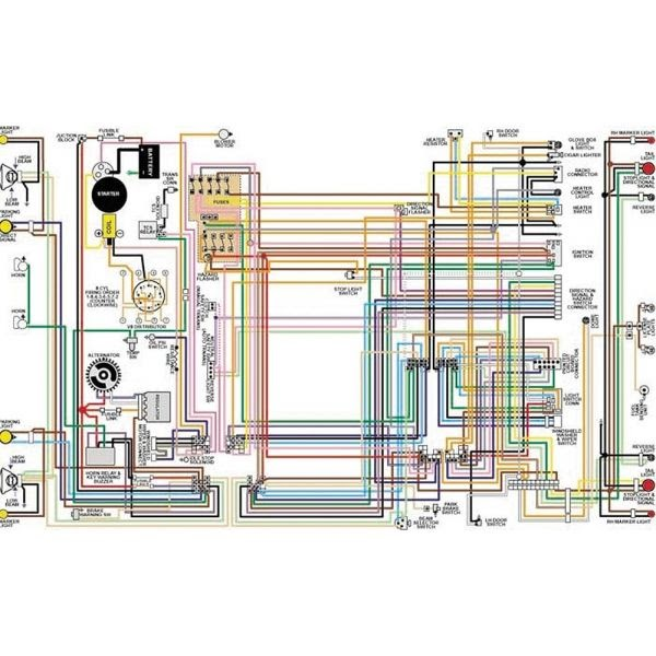 68 Firebird Wiring Diagram