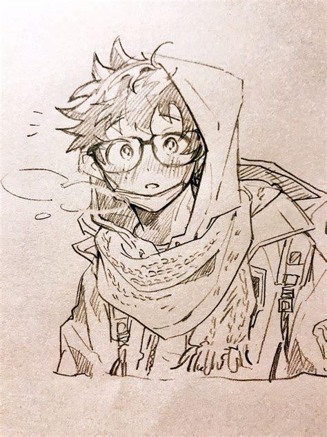 character midoriya izuku boku  hero academia